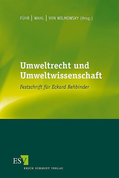 Umweltrecht und Umweltwissenschaft - Coverbild