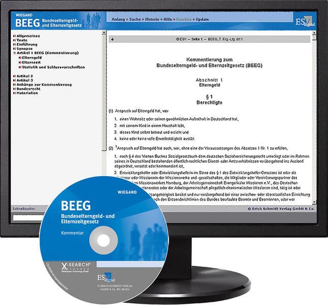 BEEG Bundeselterngeld- und Elternzeitgesetz - Abonnement - Coverbild