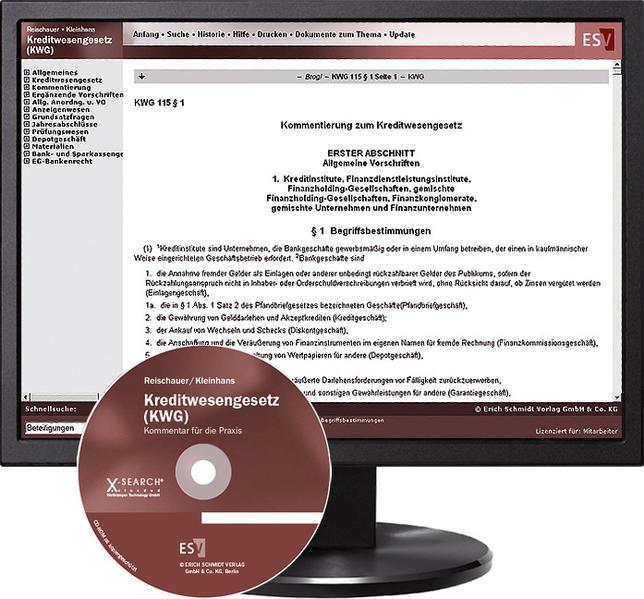 Kreditwesengesetz (KWG) - bei Kombibezug Print und CD-ROM - Coverbild