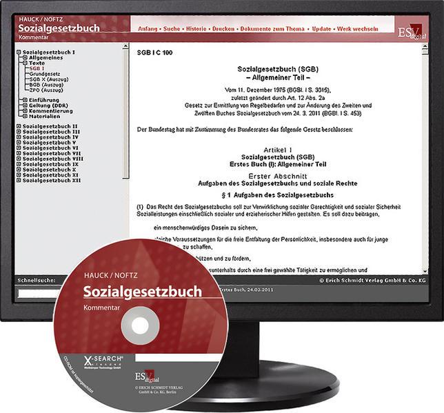Sozialgesetzbuch (SGB) I: Allgemeiner Teil - bei Kombibezug Print und CD-ROM - Coverbild