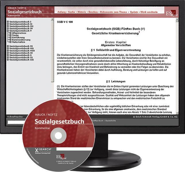 Sozialgesetzbuch (SGB) V: Gesetzliche Krankenversicherung - Abonnement - Coverbild