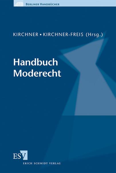 Handbuch Moderecht - Coverbild