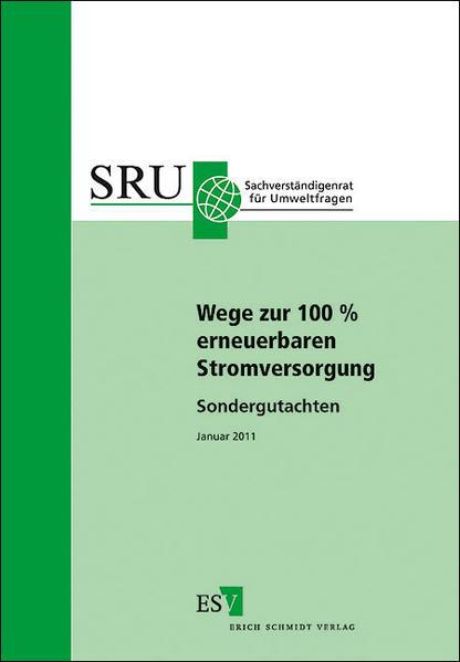 Wege zur 100 % erneuerbaren Stromversorgung - Coverbild