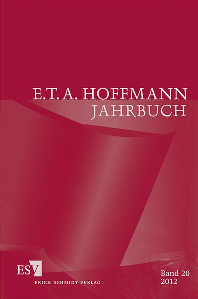 E.T.A. Hoffmann-Jahrbuch 2012 - Coverbild