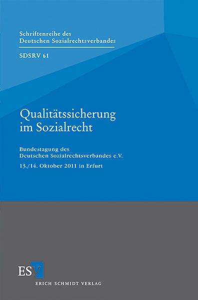 Qualitätssicherung im Sozialrecht - Coverbild