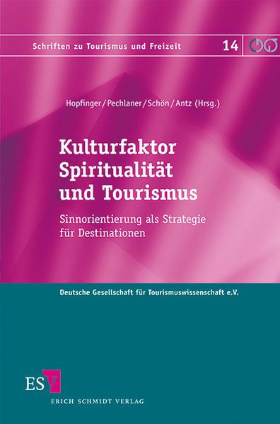 Kulturfaktor Spiritualität und Tourismus - Coverbild