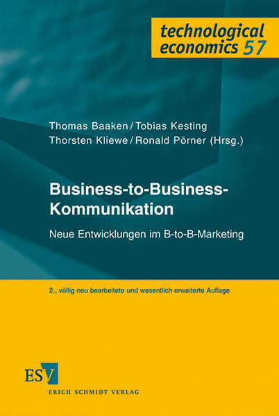 Business-to-Business-Kommunikation - Coverbild