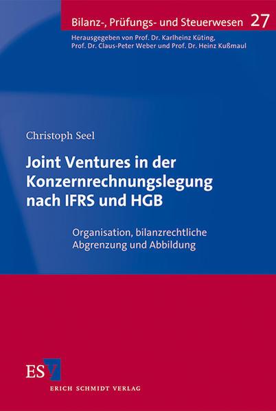 Joint Ventures in der Konzernrechnungslegung nach IFRS und HGB - Coverbild
