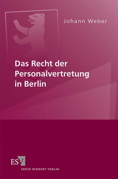 Das Recht der Personalvertretung in Berlin - Coverbild