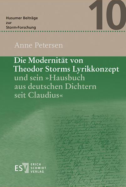 Die Modernität von Theodor Storms Lyrikkonzept und sein