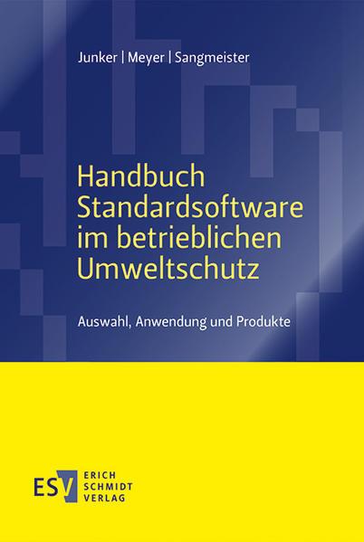 Handbuch Standardsoftware im betrieblichen Umweltschutz - Coverbild