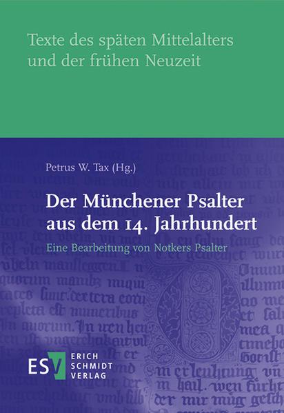 Der Münchener Psalter aus dem 14. Jahrhundert - Coverbild