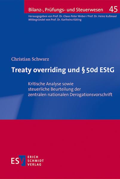 Treaty overriding und § 50d EStG - Coverbild