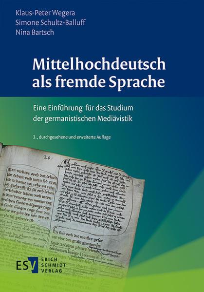 Mittelhochdeutsch als fremde Sprache - Coverbild
