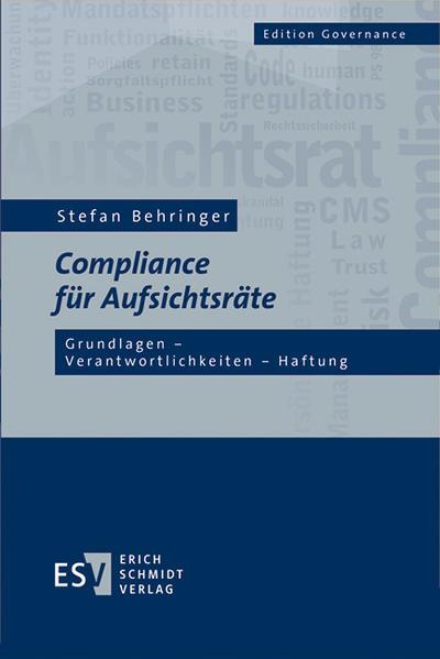 Compliance für Aufsichtsräte - Coverbild