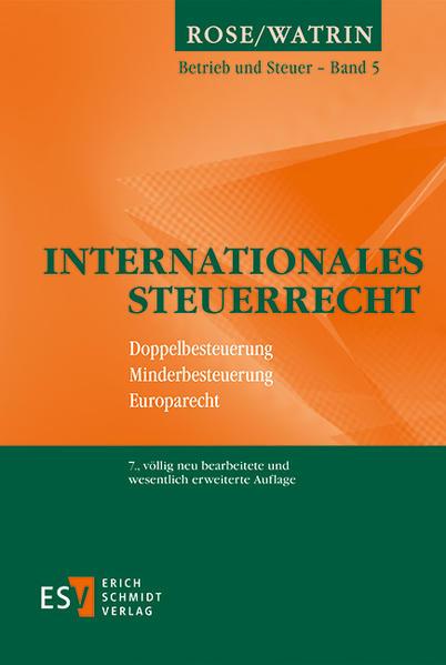 Internationales Steuerrecht - Coverbild