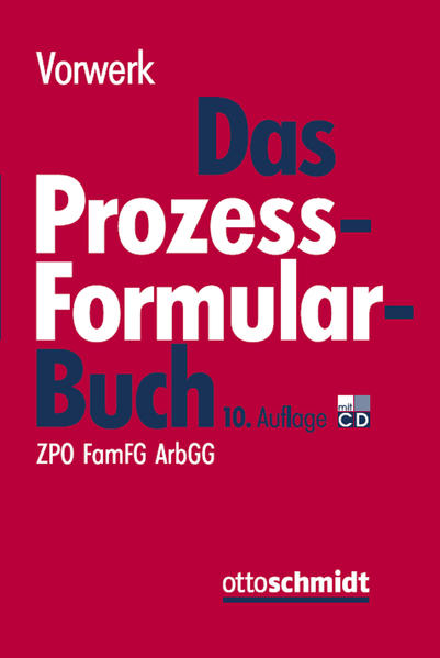 Epub Download Das Prozessformularbuch