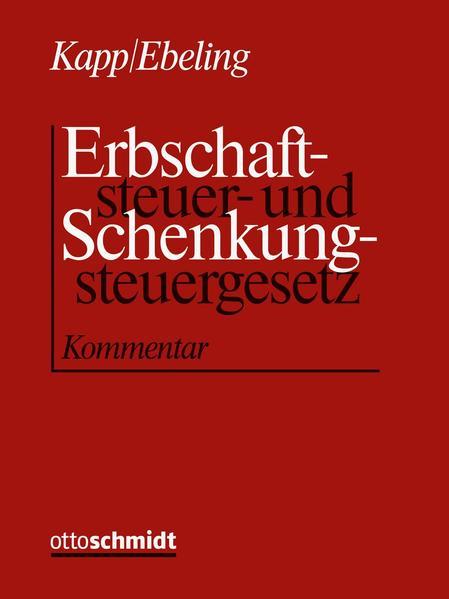 Erbschaftsteuer- und Schenkungsteuergesetz - Coverbild