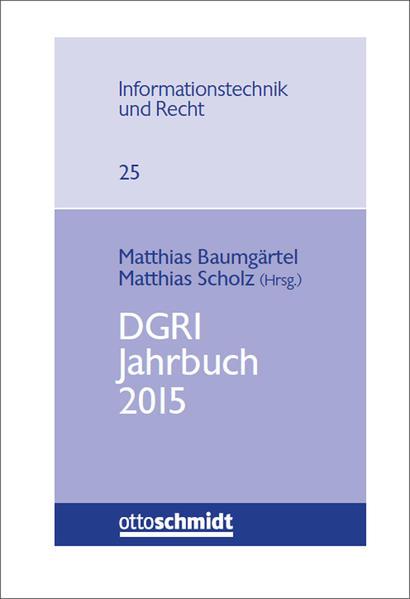 DGRI Jahrbuch 2015 - Coverbild