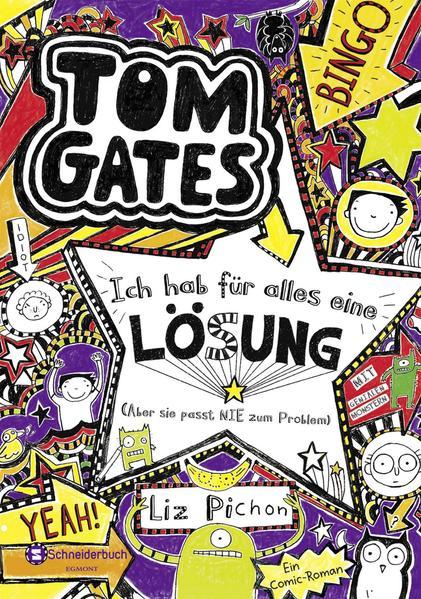 Tom Gates, Band 05 - Coverbild
