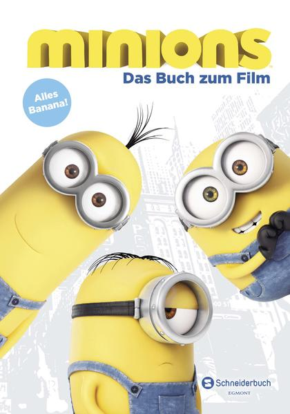 Minions - Das Buch zum Film - Coverbild