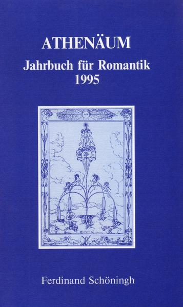 Athenäum Jahrbuch für Romantik / Athenäum Jahrbuch für Romantik - Coverbild