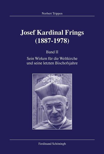 Josef Kardinal Frings (1887-1978) / Josef Kardinal Frings (1887-1978) - Coverbild