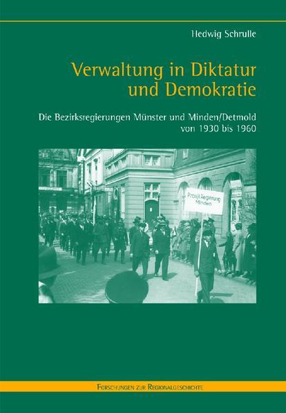 Verwaltung in Diktatur und Demokratie - Coverbild