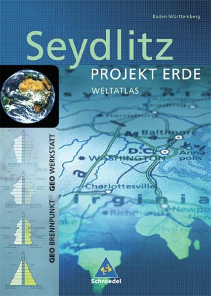 Seydlitz Weltatlas Projekt Erde - Coverbild