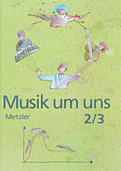 Musik um uns SI / Musik um uns SI - Ausgabe für das 7. und 9 bis 10. Schuljahr in Baden-Württemberg - 3. Auflage 1991 - Coverbild