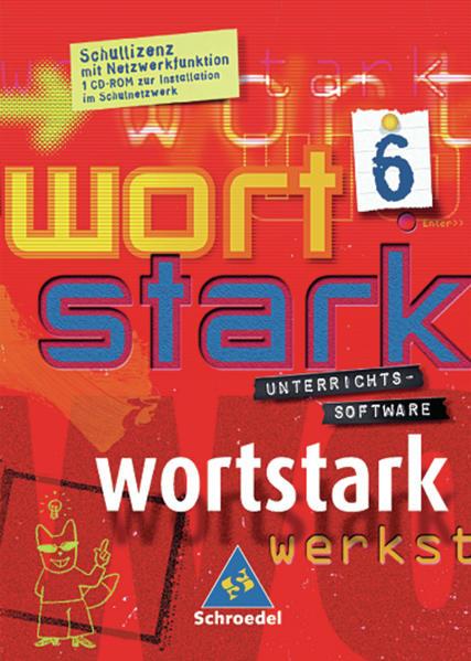 wortstark Unterrichtssoftware / Wortstark Schullizenzen - Ausgabe 2003 - Coverbild
