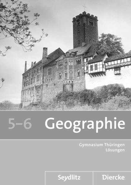 Seydlitz / Diercke Geographie / Seydlitz / Diercke Geographie - Ausgabe 2012 für die Sekundarstufe I in Thüringen - Coverbild