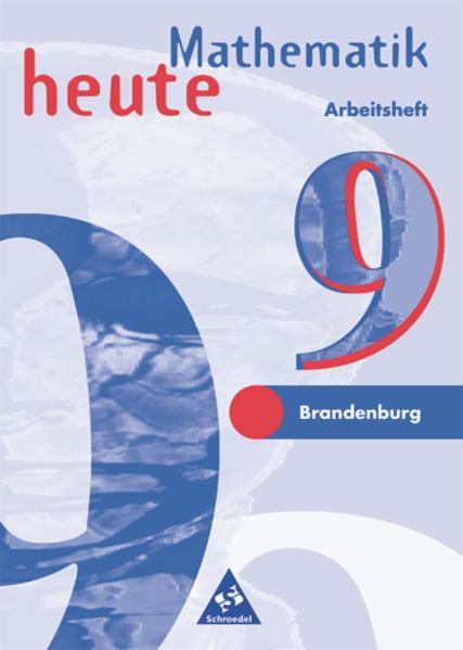 Mathematik heute / Mathematik heute - Ausgabe 1997 für das 7.-10. Schuljahr in Brandenburg - Coverbild