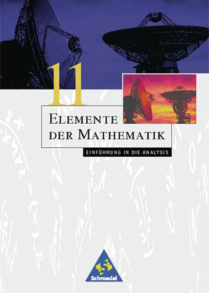 Elemente der Mathematik SII / Elemente der Mathematik SII - Ausgabe 1999 für Bremen, Hamburg, Hessen, Niedersachsen und Schleswig-Holstein - Coverbild