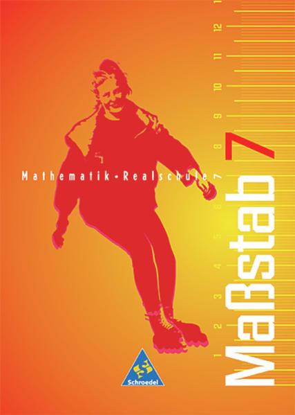 Maßstab / Maßstab - Mathematik für Realschulen für Nordrhein-Westfalen, das Saarland und Schleswig-Holstein - Ausgabe 1998 - Coverbild