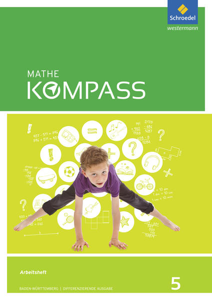 Mathe Kompass / Mathe Kompass - Ausgabe für Baden-Württemberg - Coverbild