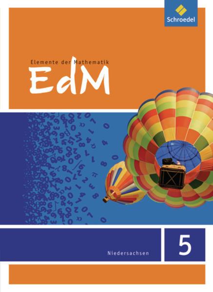 Elemente der Mathematik SI / Elemente der Mathematik SI - Ausgabe 2013 für das G8 in Niedersachsen - Coverbild