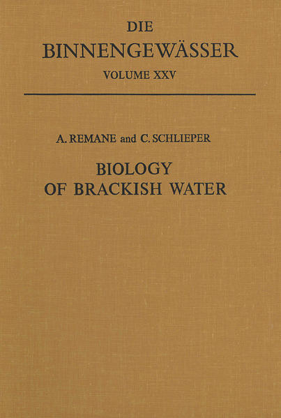 Biology of Brackish Water - Coverbild
