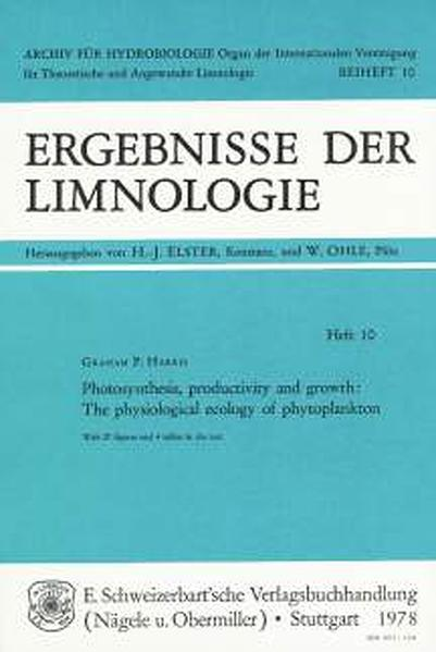 Photosynthesis, Productivity and Growth - Coverbild