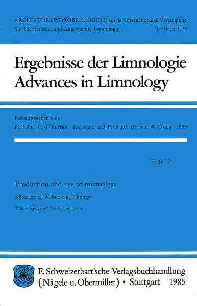 Production and use of microalgae - Coverbild