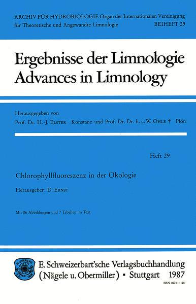 Chlorophyllfluoreszenz in der Ökologie - Coverbild