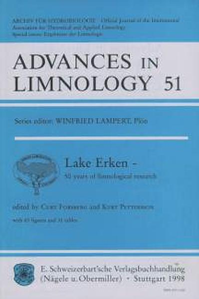 Lake Erken - 50 years of limnological research - Coverbild