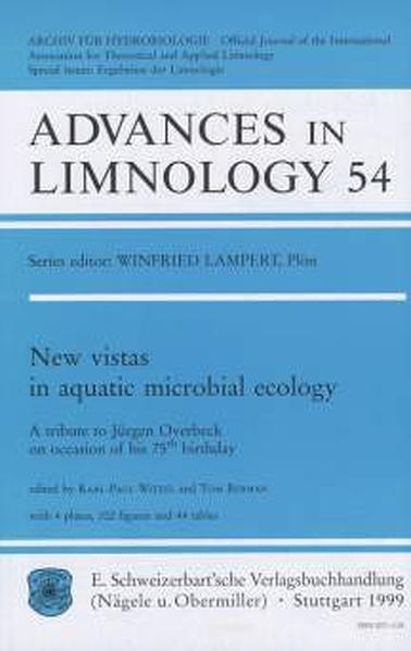 New vistas in aquatic microbial ecology - Coverbild