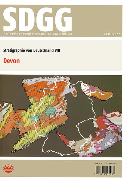 Stratigraphie von Deutschland VIII: Devon - Coverbild