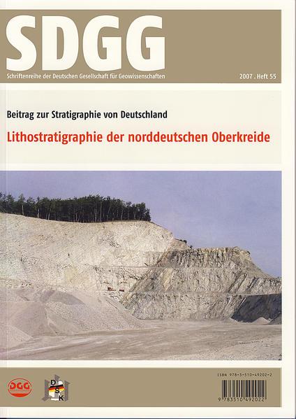 Lithostratigraphie der norddeutschen Oberkreide - Coverbild
