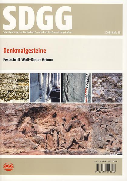 Denkmalgesteine - Coverbild