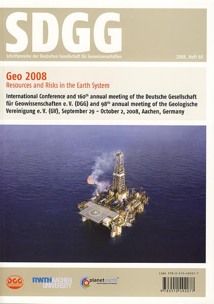 Geo2008 -  Resources and Risks in the Earth System - Coverbild