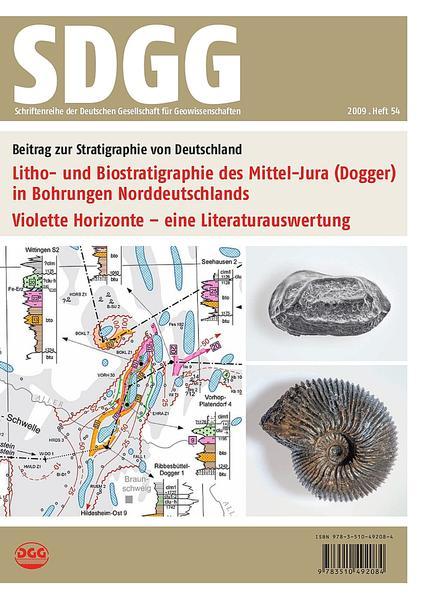 Litho- und Biostratigraphie des Mittel-Jura (Dogger) in Bohrungen  Norddeutschlands - Violette Horizonte - eine Literaturauswertung - Coverbild