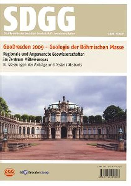 GeoDresden2009 - Geologie der Böhmischen Masse. Regionale und angewandte Geowissenschaften in Mitteleuropa - Coverbild