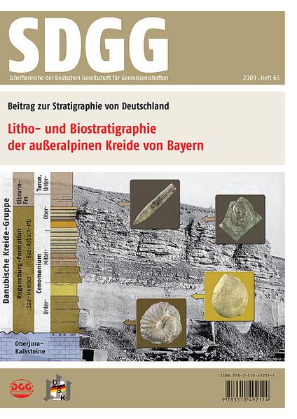 Litho- und Biostratigraphie der außeralpinen Kreide von Bayern - Coverbild